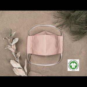 PINK Organic 100% Cotton 3D Face Mask 3-Layer